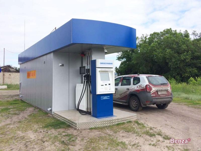 Производство контейнерных АЗС КАЗС