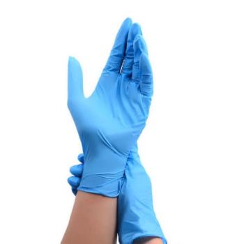 Нитриловые перчатки Wally Plastic 50 пар
